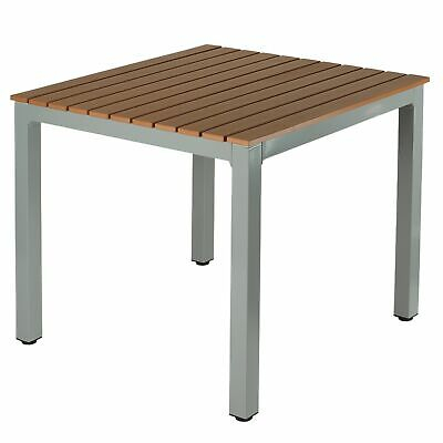 Inspiration about Latest Cortesi Home Avery Aluminum Outdoor Table Tan Regarding Avery Round Dining Tables (#13 of 20)