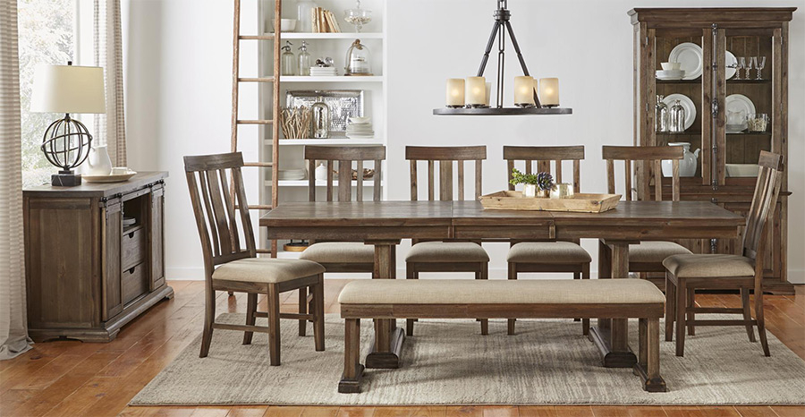Latest Dawson Pedestal Dining Tables With Regard To Prices • A America Dawson Wt Dining Furniture • Al's Woodcraft (View 18 of 20)