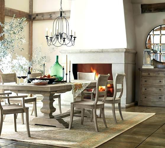 Inspiration about Latest Grey Wash Dining Table – Insidestories With Regard To Gray Wash Banks Pedestal Extending Dining Tables (#8 of 20)