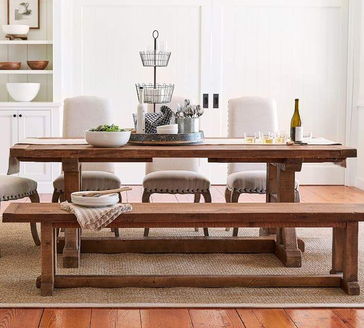 Inspiration about Latest Hart Reclaimed Wood Extending Dining Tables Regarding Reclaimed Dining Table – Shopstyle (#30 of 30)