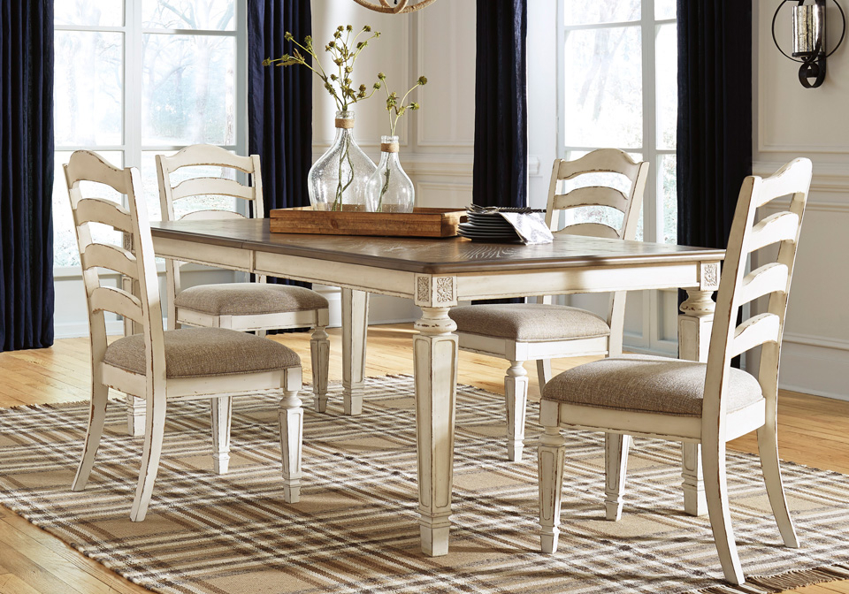 Inspiration about Latest Ingred Extending Dining Tables Within Realyn Chipped Oval Dining Table (#15 of 20)
