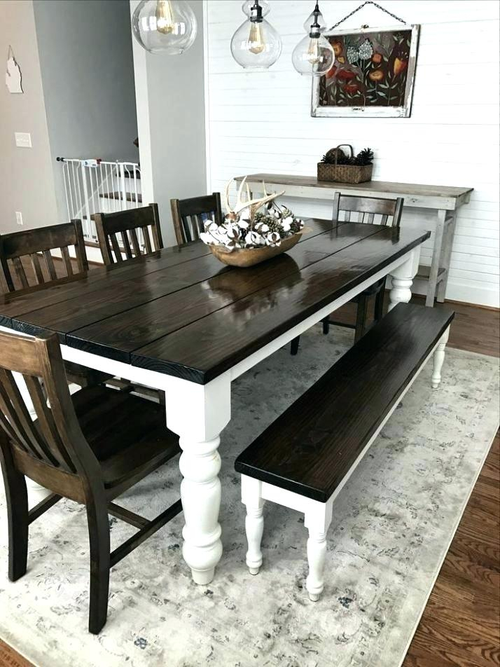 Inspiration about Latest Solid Wood Extendable Farmhouse Dining Table – Baileyg.co Inside Modern Farmhouse Extending Dining Tables (#11 of 30)
