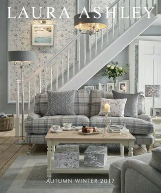 Inspiration about Laura Ashley – Autumn Winter 2017Laura Ashley – Issuu Regarding Floral Blossom Ink Painting Thermal Room Darkening Kitchen Tier Pairs (#22 of 49)
