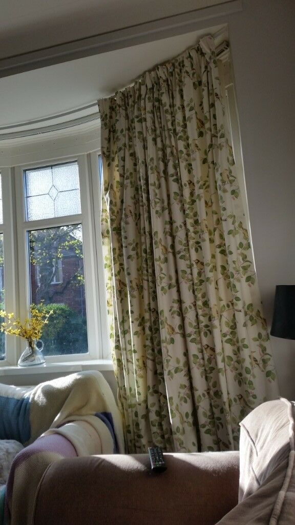 Inspiration about Laura Ashley Aviary Garden Curtains 90 Inches Wide X 88 Inches Drop | In  Newcastle, Tyne And Wear | Gumtree Pertaining To Aviary Window Curtains (#14 of 30)