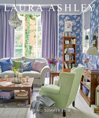 Laura Ashley Spring Summer 2018Stanislav Petkanov – Issuu For Imperial Flower Jacquard Tier And Valance Kitchen Curtain Sets (#31 of 46)