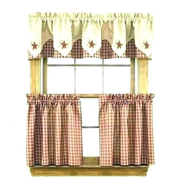 Inspiration about Licious Kitchen Curtains Images Window Pictures Modern Within Urban Embroidered Tier And Valance Kitchen Curtain Tier Sets (#24 of 30)