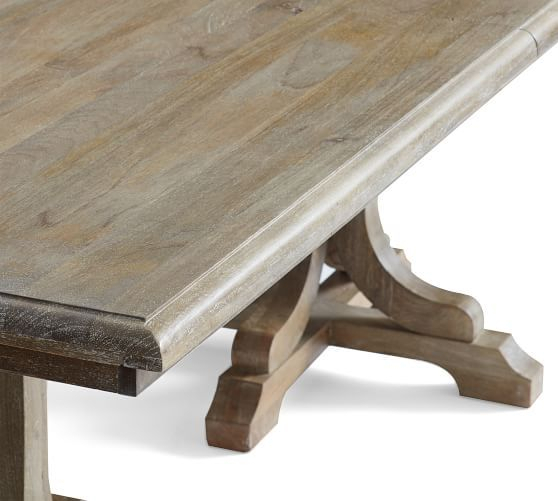 Inspiration about Linden Extending Dining Table, Belgian Gray In 2019 With Widely Used Belgian Gray Linden Extending Dining Tables (#1 of 20)
