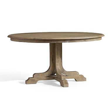 Popular Photo of Linden Round Pedestal Dining Tables
