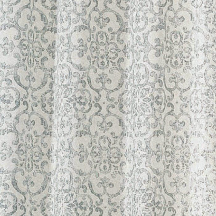 Livio Damask Light Filtering Rod Pocket Curtain Panels In For Pastel Damask Printed Room Darkening Kitchen Tiers (#30 of 50)