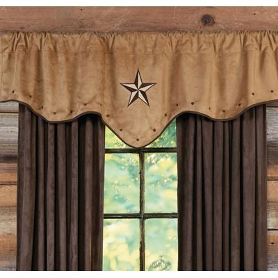 Log Cabin Curtains For Rustic Country Homes | Everything Log For Dakota Window Curtain Tier Pair And Valance Sets (#28 of 30)