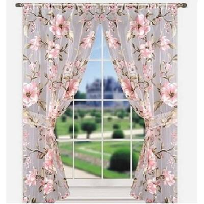 Inspiration about Loon Peak Agapius Thermal Tab Top Curtain Panels & Reviews With Regard To Complete Cottage Curtain Sets With An Antique And Aubergine Grapvine Print (#12 of 30)