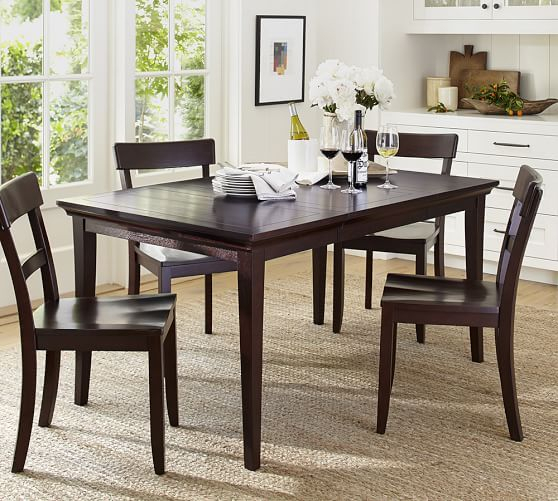 Lorraine Extending Dining Table Hewn Oak Pottery Barn With Throughout Most Popular Hewn Oak Lorraine Pedestal Extending Dining Tables (#10 of 20)