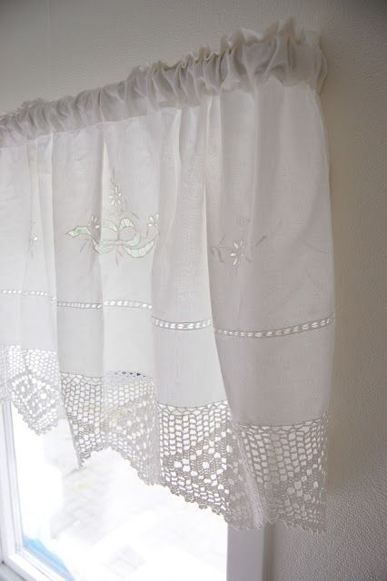 Love This Curtain!!! (Norwegian Farmhouse) | Shabby Chic Intended For Cotton Blend Classic Checkered Decorative Window Curtains (View 21 of 30)