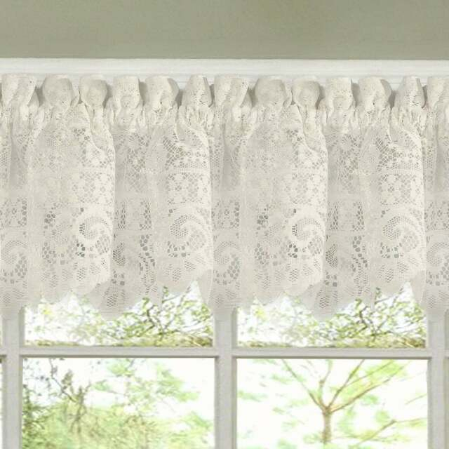 Luxurious Old World Style Lace Kitchen Curtains Tiers And For Kitchen Curtain Tiers (View 7 of 50)