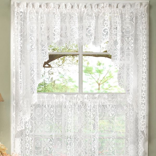 Popular Photo of Luxurious Kitchen Curtains Tiers, Shade Or Valances