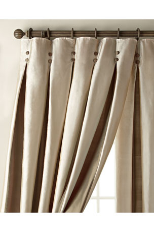 Inspiration about Luxury Curtains & Curtain Hardware At Neiman Marcus Regarding Classic Kitchen Curtain Sets (#48 of 50)