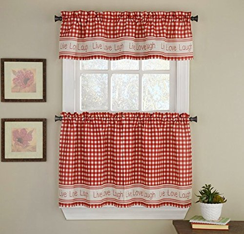 Madison Park Amherst Polyoni Pintuck Window Valance, 50X18 Throughout Pintuck Kitchen Window Tiers (#26 of 43)