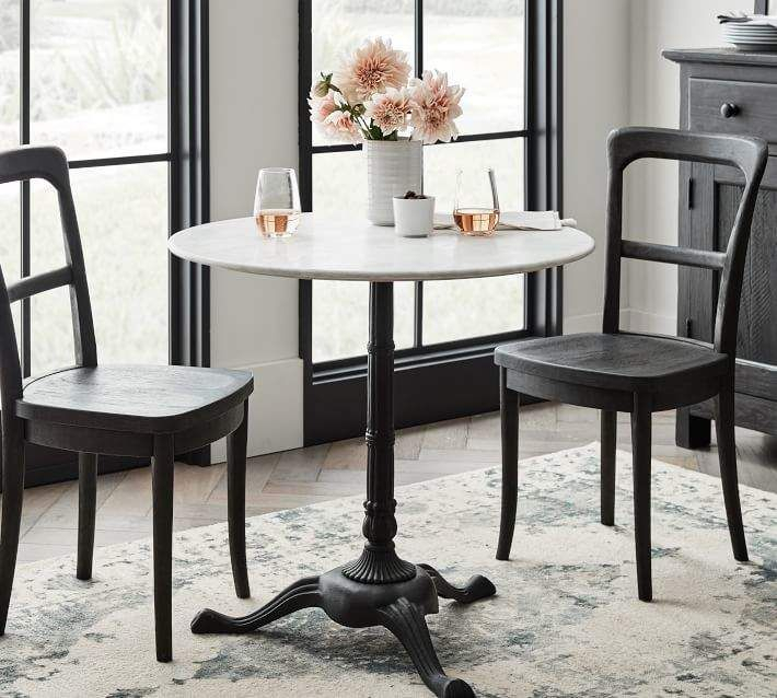 Popular Photo of Rae Round Marble Bistro Tables