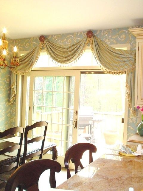 Metropolis Iron Carries Large Drapery Medallions Similar To For Medallion Window Curtain Valances (#31 of 48)