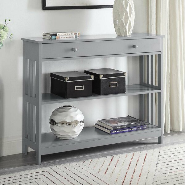 Mission Style Sofa Table | Wayfair With Regard To Porch & Den Lorentz Silver 24 Inch Tier Pairs (View 12 of 30)
