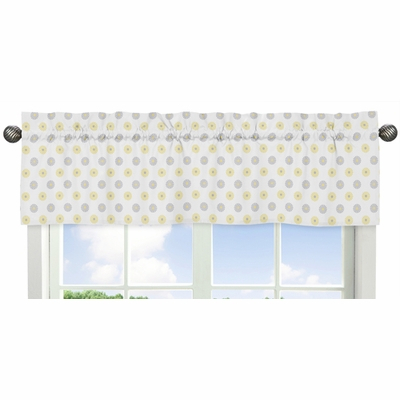 Mod Garden Collection Floral Print Window Valance Pertaining To Floral Pattern Window Valances (View 28 of 50)