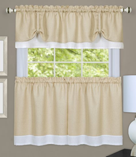 Modelos De Cortinas Para Mesones De Cocina – Buscar Con Intended For Abby Embroidered 5 Piece Curtain Tier And Swag Sets (View 23 of 30)