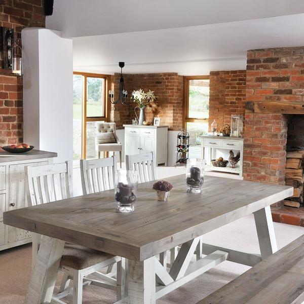 Popular Photo of Modern Farmhouse Extending Dining Tables