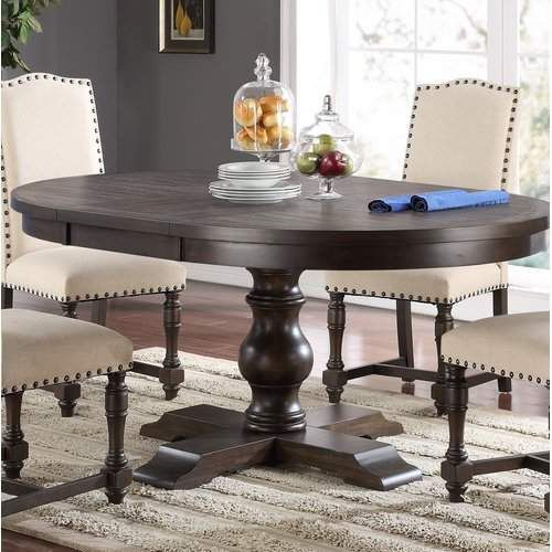 Modern Farmhouse Extending Dining Tables Inside Favorite Fortunat Extendable Dining Table In  (#18 of 30)