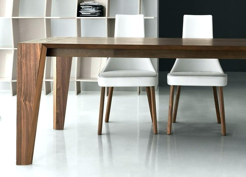 Modern Farmhouse Extending Dining Tables Throughout Most Current Contemporary Wood Dining Table – Ientry (#19 of 30)