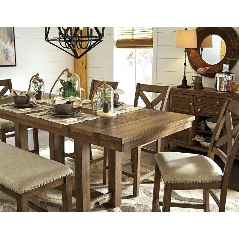Modern Farmhouse Extending Dining Tables Throughout Most Recently Released Farmhouse Extendable Dining Table – Cooon (#20 of 30)