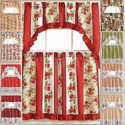 """Monarch Butterfly White Kitchen Curtain Embroidered 24"""" Tier With Regard To Fluttering Butterfly White Embroidered Tier, Swag, Or Valance Kitchen Curtains (View 27 of 50)"""