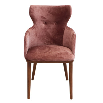 Montalvo Dining Chair Walnut Throughout Most Recently Released Montalvo Round Dining Tables (#10 of 20)