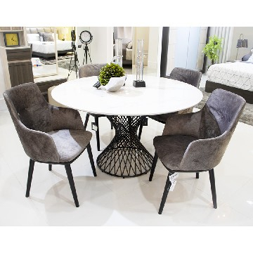 Montalvo Round Dining Tables For 2020 Dining Room (#11 of 20)