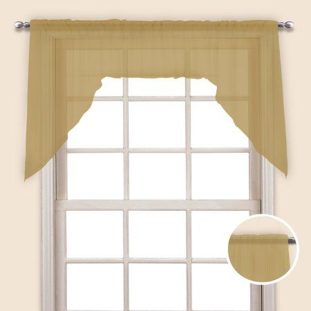 Monte Carlo 60 Inch X 38 Inch Window Curtain Pair Of Cafe Regarding Simple Life Flax Tier Pairs (View 30 of 30)
