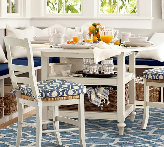 Most Current Black Shayne Drop Leaf Kitchen Tables Regarding Shayne Drop Leaf Kitchen Table, Antique White (View 8 of 20)