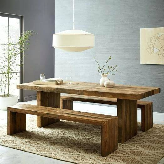 Most Current Driftwood White Hart Reclaimed Pedestal Extending Dining Tables Intended For Reclaimed Wood Round Extending Dining Table Industrial Oak (View 26 of 30)