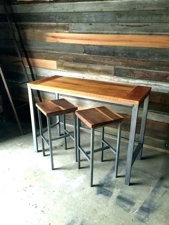 Most Current Griffin Reclaimed Wood Bar Height Tables Regarding Reclaimed Wood Bar Table – Zafraphoto (#15 of 30)