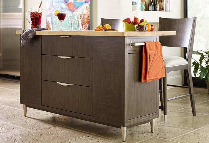 Most Current Kitchen Islands On The Go With Regard To Elworth Kitchen Island (#12 of 20)