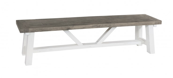 Most Current Langton Reclaimed Wood Dining Tables Pertaining To Langton Long Bench (#23 of 30)