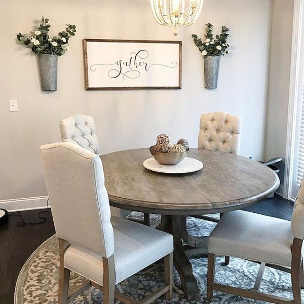 Most Current Linden Fixed Pedestal Table, Grey At Pottery Barn In 2019 Within Linden Round Pedestal Dining Tables (View 3 of 30)