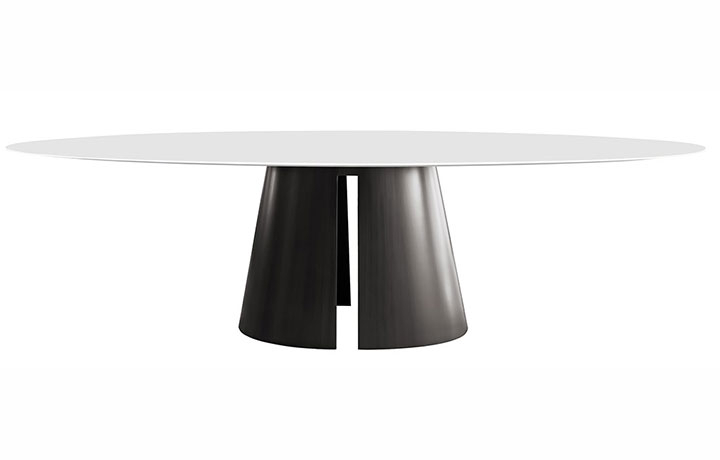 Most Current Product Debuts – Design Chicago With Cleary Oval Dining Pedestal Tables (#13 of 20)