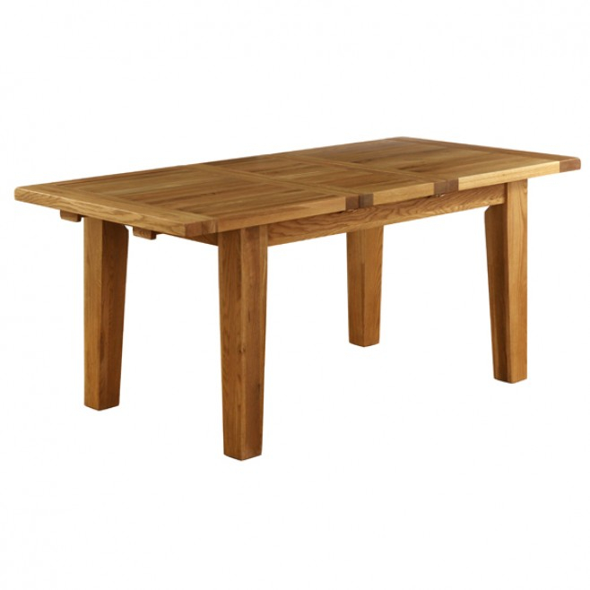 Most Popular Faye Extending Dining Tables With Besp Oak Vancouver Petite Oak Extension Dining Table (#14 of 20)