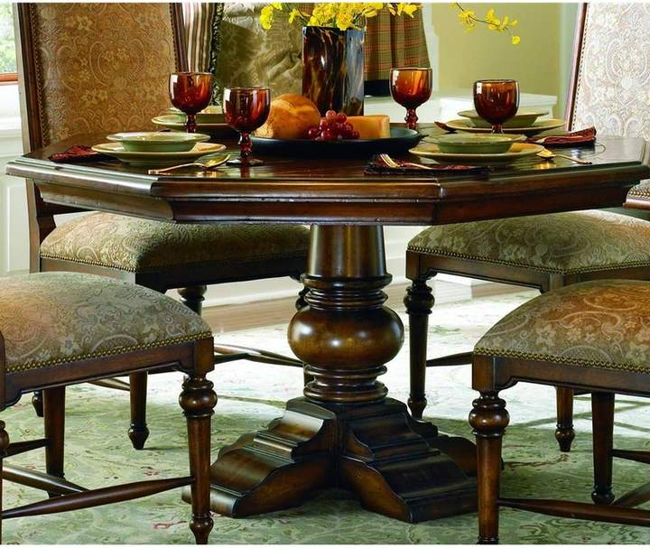 Most Popular Hooker Furniture Schaub Dining Table In  (#24 of 30)