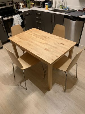 Most Popular New And Used Kitchen Table For Sale In Santa Clara, Ca – Offerup With Regard To Menlo Reclaimed Wood Extending Dining Tables (#23 of 30)