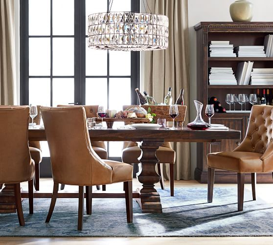 Most Popular Parkmore Reclaimed Wood Extending Dining Tables In 15 Best Pottery Barn Dining Tables On Sale! (#13 of 30)