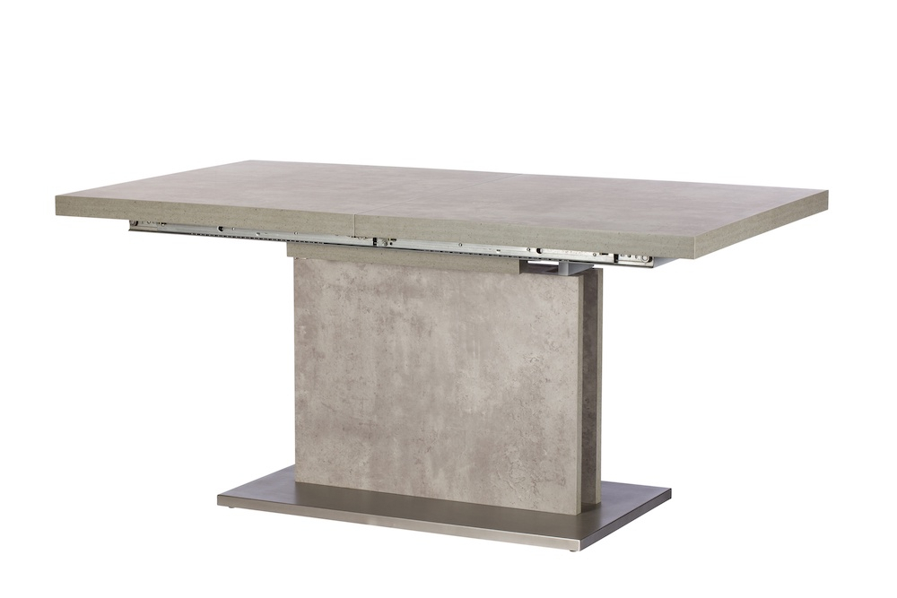 Most Recent Panama 160Cm Concrete Extending Dining Table Within Reed Extending Dining Tables (View 21 of 30)