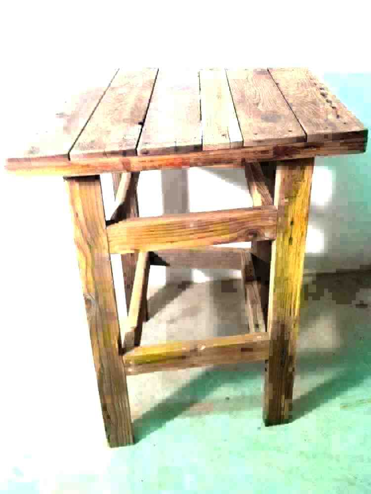 Most Recently Released Griffin Reclaimed Wood Bar Height Tables Regarding Reclaimed Wood Bar Height Table – Jonsenpetcafe (#19 of 30)
