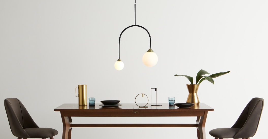 Most Up To Date Faye Pendant Light, Black And Antique Brass (#17 of 20)