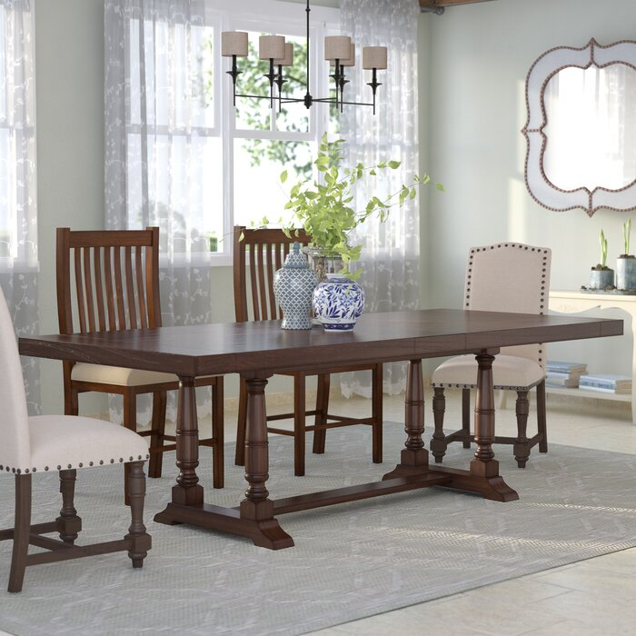 Most Up To Date Modern Farmhouse Extending Dining Tables With Fortunat Extendable Dining Table (#24 of 30)