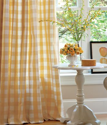 My Bedroom, While I Was In High School, Was Bright Yellow Regarding Country Style Curtain Parts With White Daisy Lace Accent (View 42 of 50)
